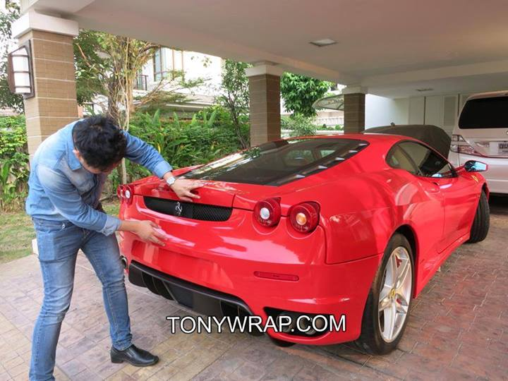 bcaa6124f54 TONY WRAP CAR ฟิล์มเปลี่ยนสีรถ Wrapรถ Car Wrap ราคาพิเศษ