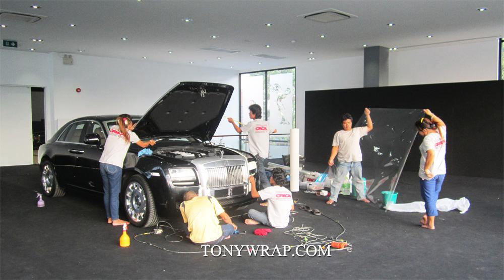 online retailer b830a d3d91 TONY WRAP CAR ฟิล์มเปลี่ยนสีรถ Wrapรถ Car Wrap ราคาพิเศษ   Rolls ...