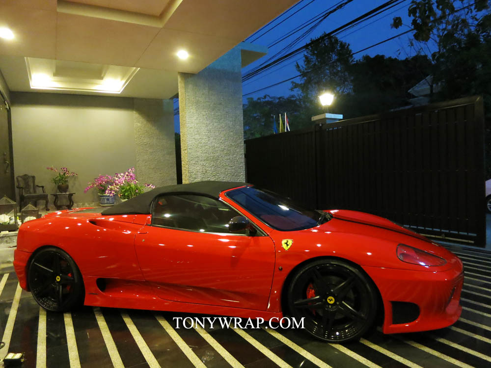TONY WRAP CAR ????????????????? ???????????????? Wrap?? Car