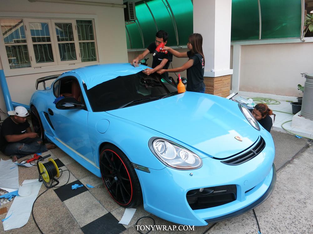 f0750c76448 TONY WRAP CAR ฟิล์มเปลี่ยนสีรถ Wrapรถ Car Wrap ราคาพิเศษ | Glossy ...