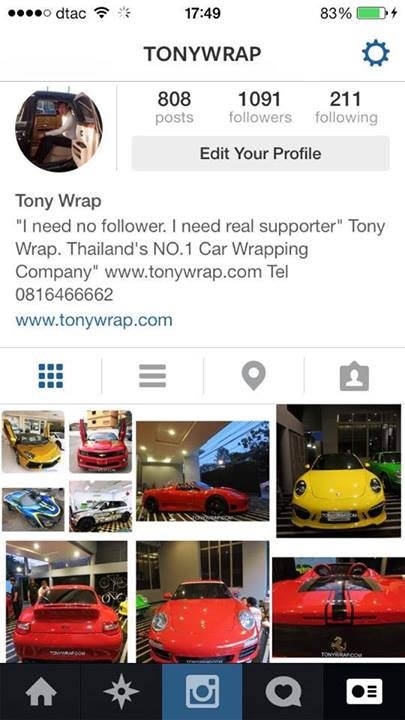 detailed look 71dec 47111 TONY WRAP CAR ฟิล์มเปลี่ยนสีรถ Wrapรถ Car Wrap ราคาพิเศษ   Instagram ...