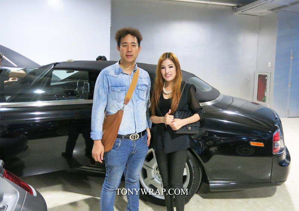 2587040720 TONY WRAP CAR ฟิล์มใสกันรอยสีรถ ฟิล์มเปลี่ยนสีรถ Wrapรถ Car Wrap ...