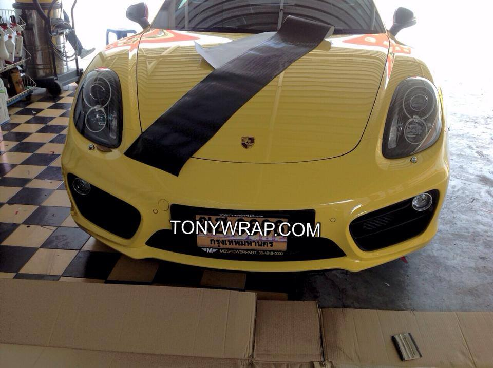 Porsche Cayman Carbon Kevlar Decoration Wrap Car Tony Wrap Supercar Society 748ca7395