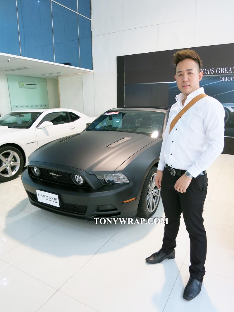 f809b155 TONY WRAP CAR ฟิล์มเปลี่ยนสีรถ Wrapรถ Car Wrap ราคาพิเศษ | Matt ...