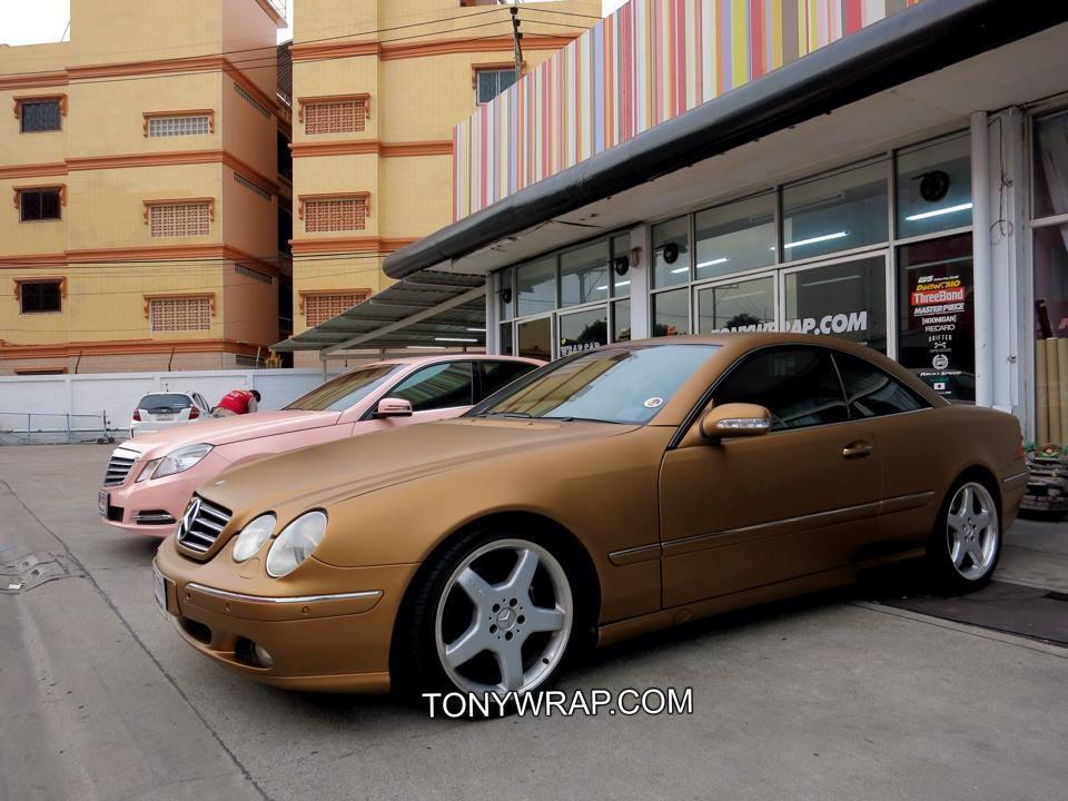 TONY WRAP CAR ฟิล์มใสกันรอยสีรถ ฟิล์มเปลี่ยนสีรถ Wrapรถ Car Wrap