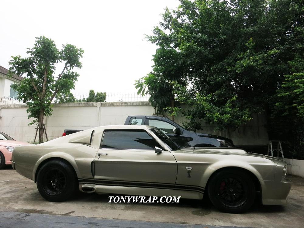 TONY WRAP CAR ฟิล์มใสกันรอยสีรถ ฟิล์มเปลี่ยนสีรถ Wrapรถ Car