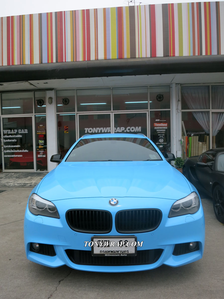 Tony Wrap Car Glossy Chesestick By Dapure Padero Sf Bmw 5 Series Touring 2