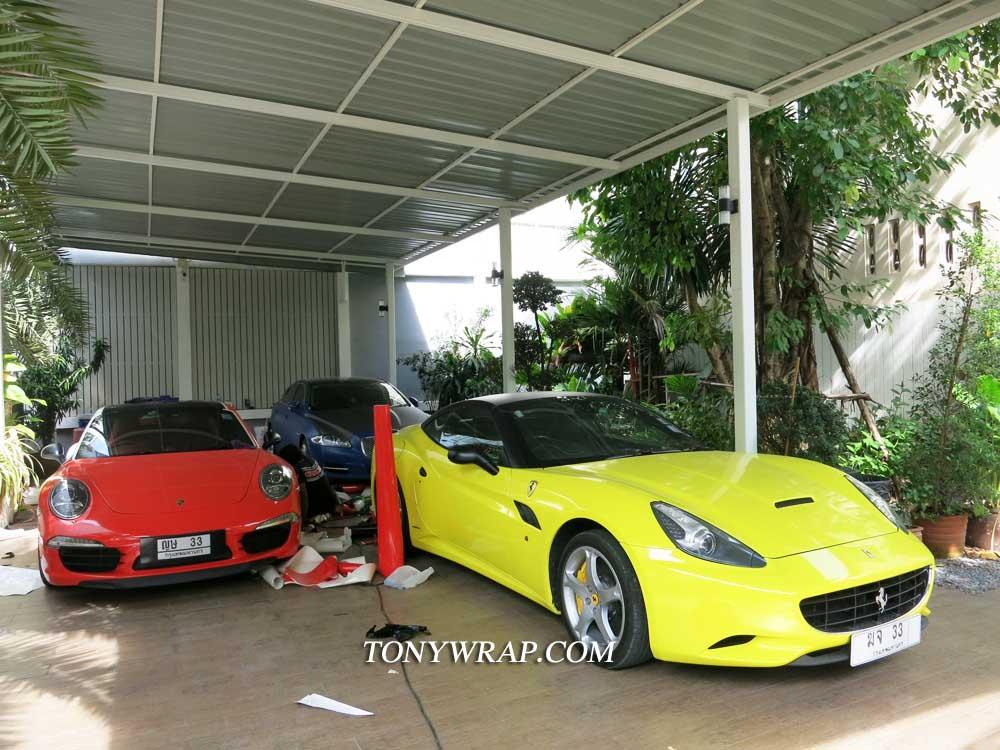 san francisco def90 37016 TONY WRAP CAR ฟิล์มเปลี่ยนสีรถ Wrapรถ Car Wrap ราคาพิเศษ   Glossy ...