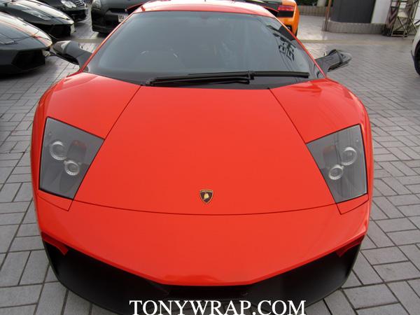 2f7aa45228f6 TONY WRAP CAR ฟิล์มเปลี่ยนสีรถ Wrapรถ Car Wrap ราคาพิเศษ   Aventador ...