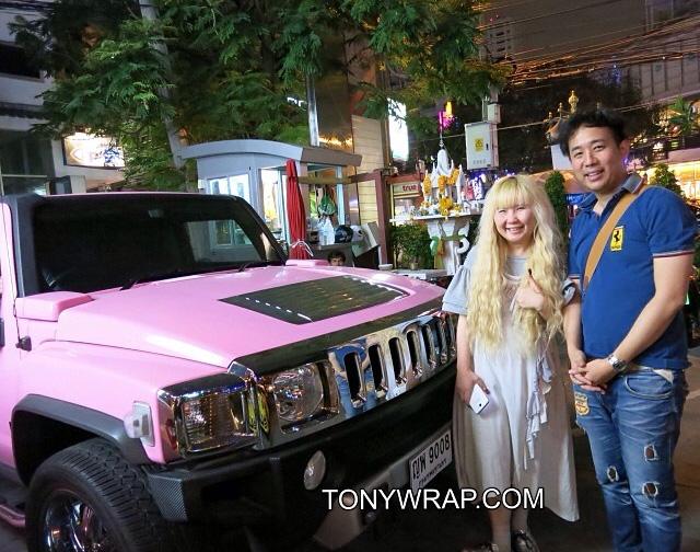 TONY WRAP CAR ฟิล์มเปลี่ยนสีรถ Wrapรถ Car Wrap ราคาพิเศษ  25620d053